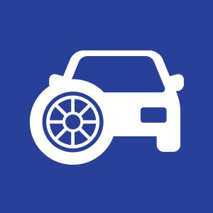 vehicle tyres icon